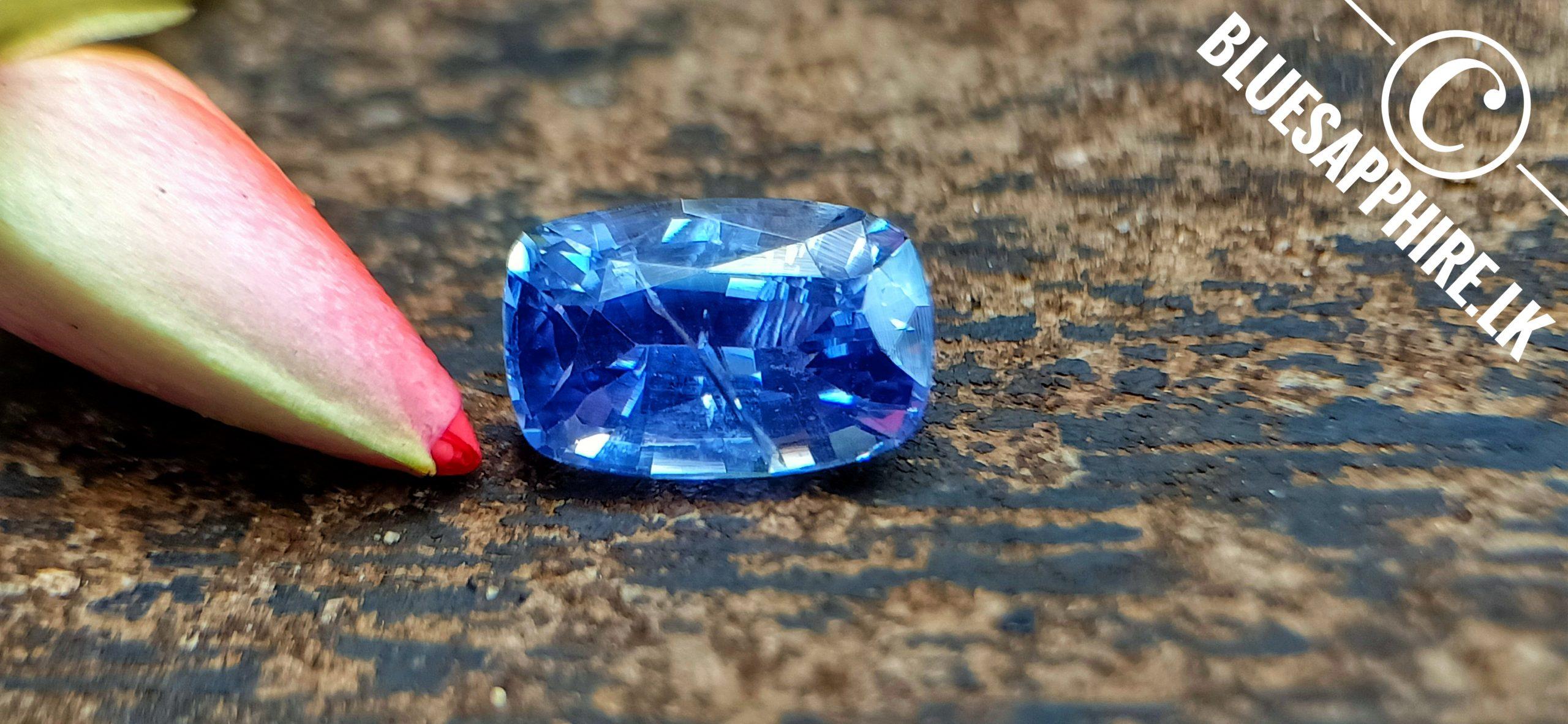 Violetish Blue Sapphire