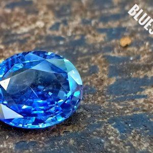 Natural Ceylon Cornflower Blue Sapphire